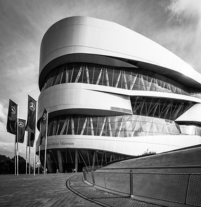 Merceds-Benz Museum, Stuttgart, Germany