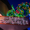 Ogden's Historic 25th Street Neon Dragon Sign - Utah