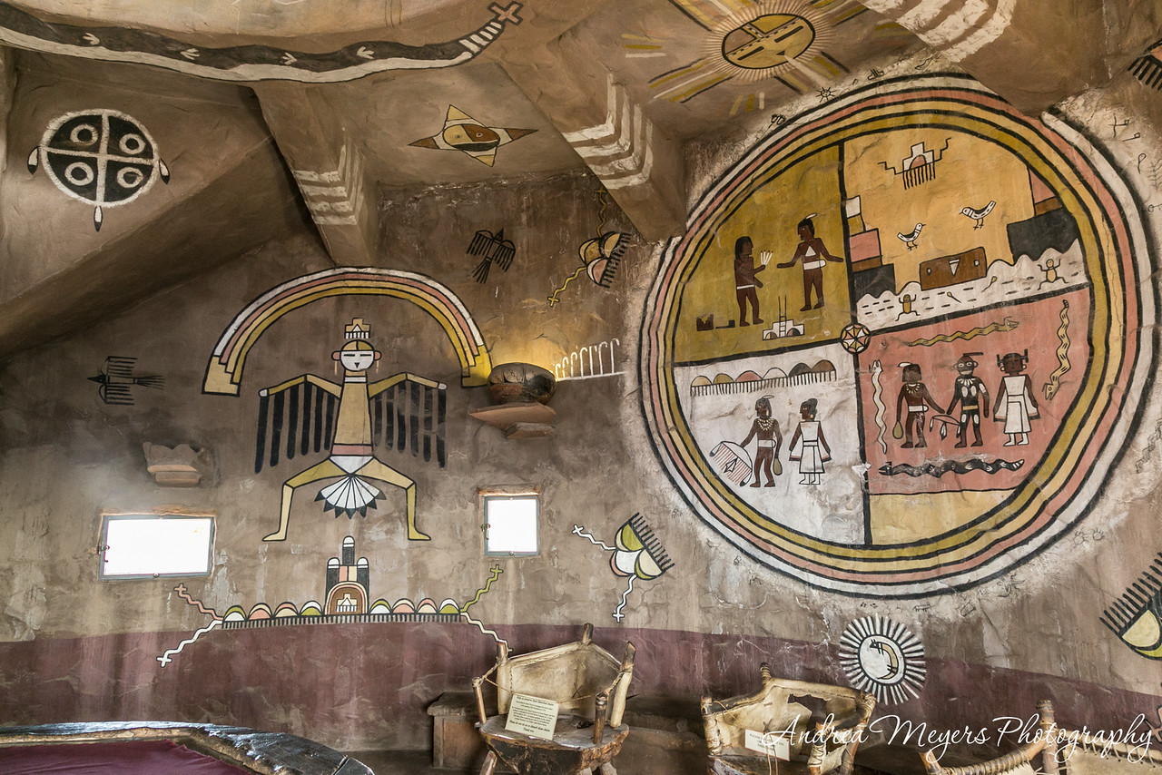 Hopi Murals by Fred Kabotie