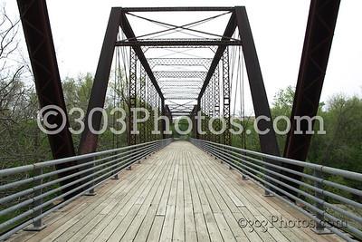 Old Congress Street bridge in Austin, Texas.