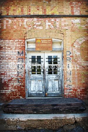 Old General Store in Zephyr, Texas.