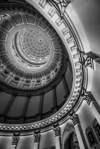 Colorado State Capitol Building Rotunda - Denver