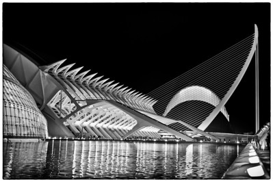 futuristisches Valencia