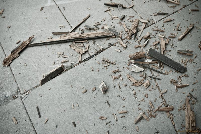 Shattered Wood