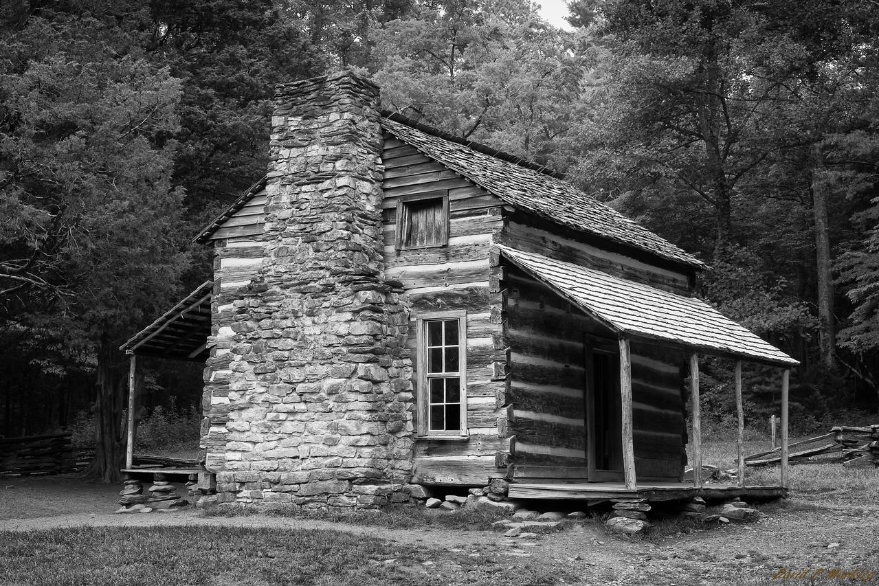 Cabin on the Rocks
