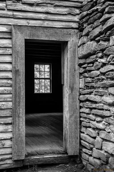 Window Behind Door