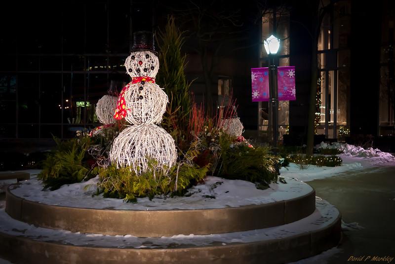 Shiny Snowman