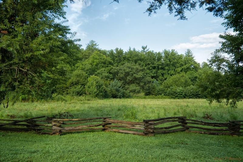 Fenced Farmland
