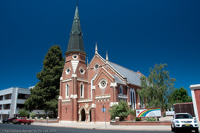 Nice architecture - Uniting Church, Bathurst.