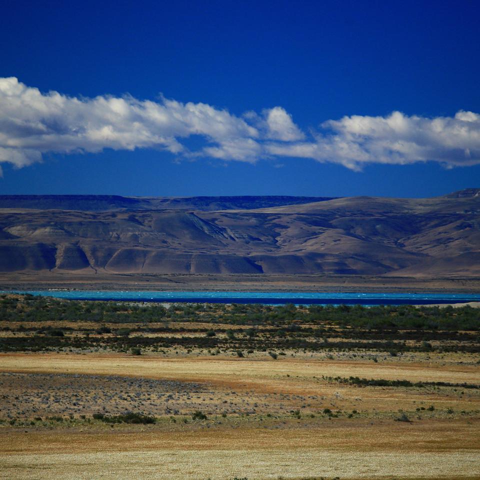 Along Route 40, near El Calafate, Patagonia, Argentina.