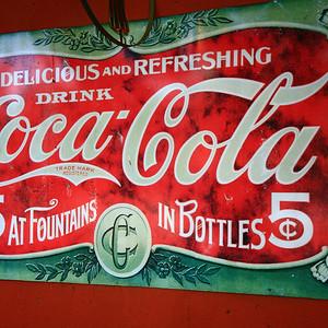 Coca-Cola, Colonia del Sacramento, Uruguay.