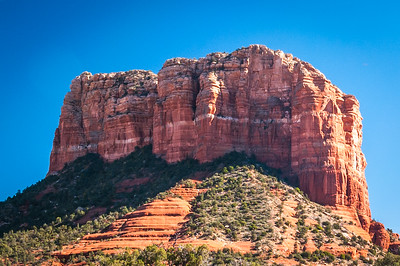 Courthouse Butte Facing South