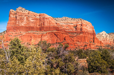 Courthouse Butte  Facing North