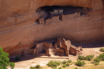 White House Ruin at Canyon De Chelly National Monument, Arizona