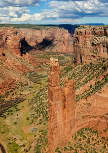 Spider Rock, Canyon De Chelly National Monument, Arizona