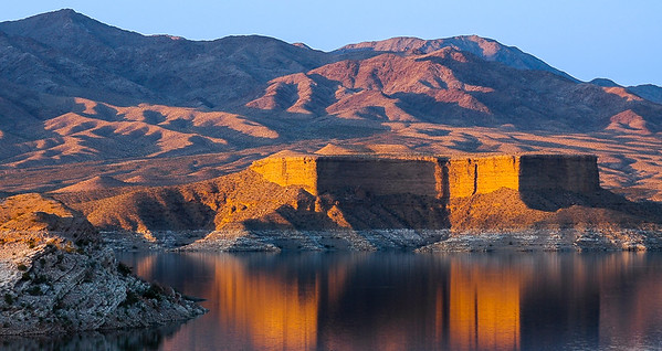 Del Mar Butte, at Lake Mead