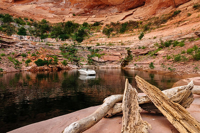 Ribbon Canyon, Lake Powell
