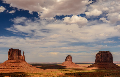 Late day light, Monument Valley, Arizona