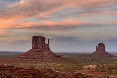 Sunset, Monument Valley, Arizona