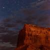 Nightscape, Monument Valley, Arizona