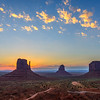 Sunrise, Monument Valley, Arizona