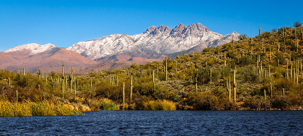 Four Peaks, Dusted with Snow, Arizona