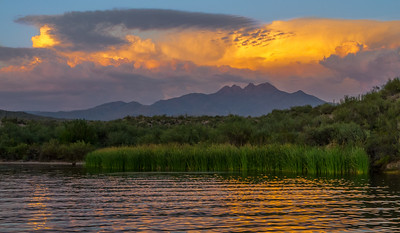 Four Peaks Sunset, Arizona