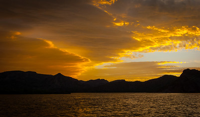 Saguaro Lake Sunset, Arizona