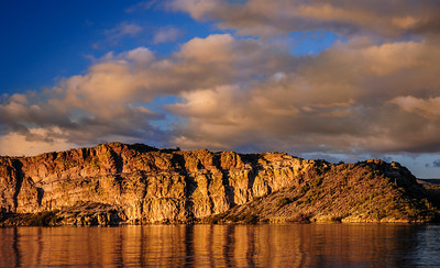 Saguaro Lake in December, Arizona