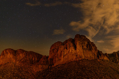 Lower Salt River Nightscape, Arizona
