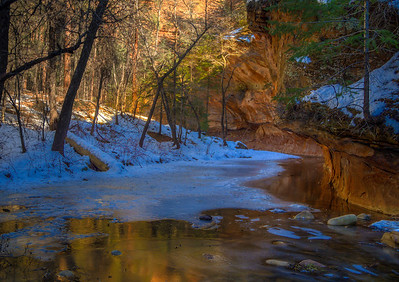 West Fork Canyon in December, Arizona