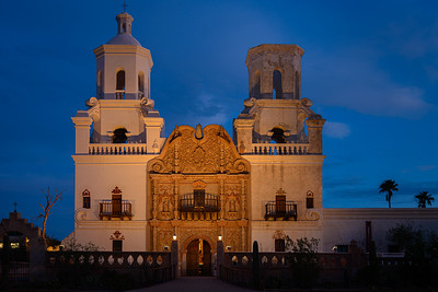 San Xavier del Bac Mission, Arizona