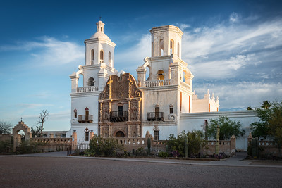 San Xavier del Bac Mission, Arizona