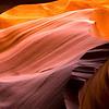 Antelope Canyon curves.  AZ.