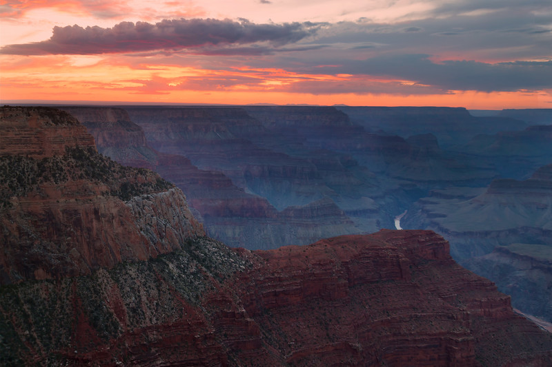 Last Light on the Grand Canyon