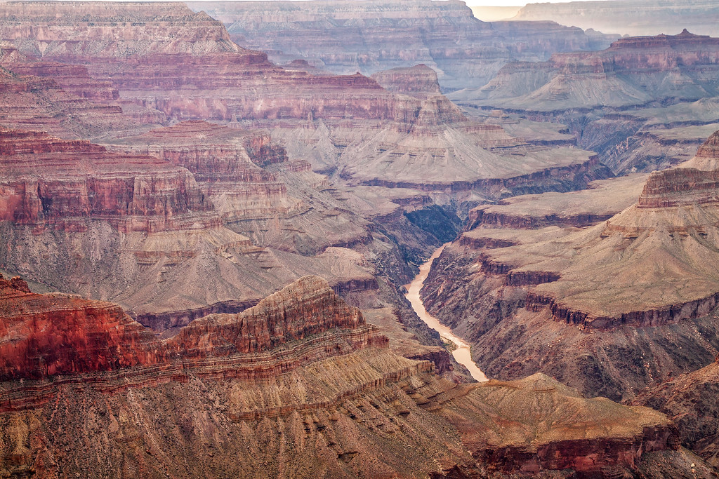The Mighty Colorado River (Grand Canyon National Park)