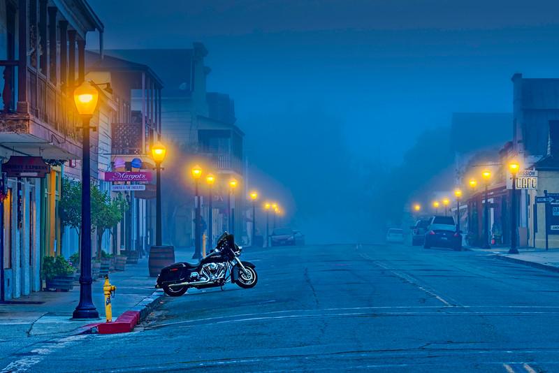 Third Street Foggy Pre-Dawn