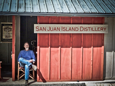 San Juan Island Distillery, near Roche Harbor