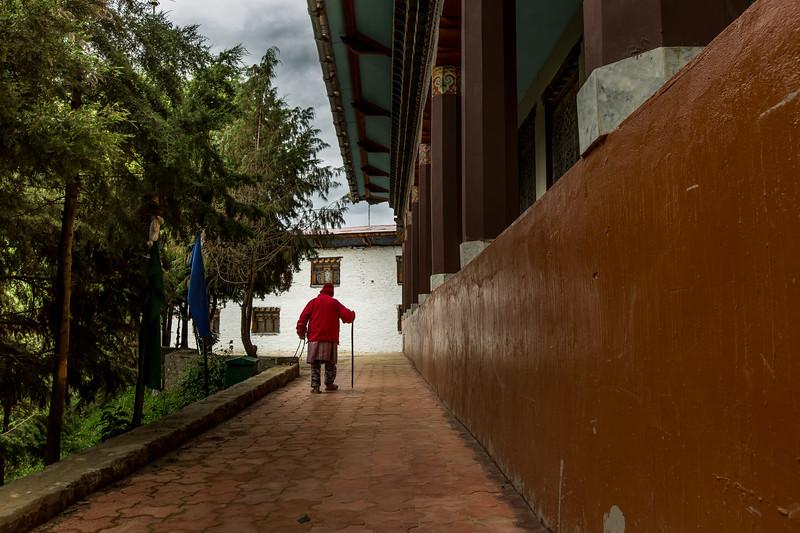 Kharchu Monastery, Jakar, Bumthang Valley
