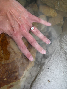 Cavell Pond Ice