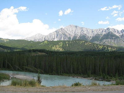 Bow River - Mount Edith