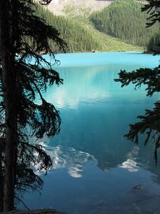 Moraine Lake Mountain Reflection