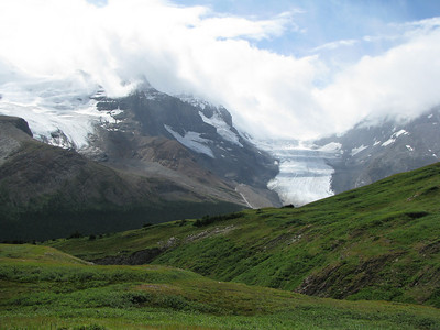 Wilcox - Athabasca and Dome Glacier