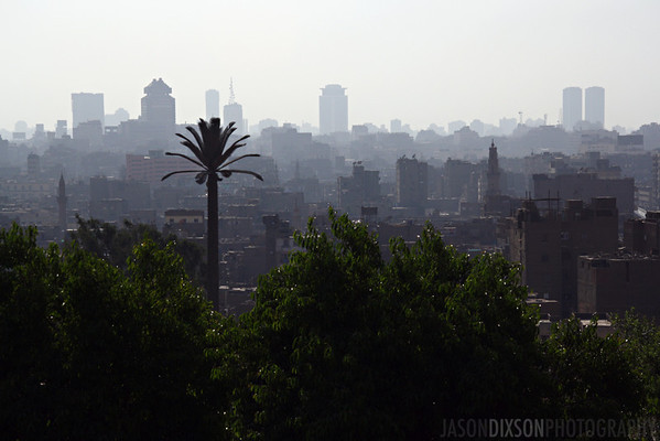 View of Cairo from Al-Azhar Park