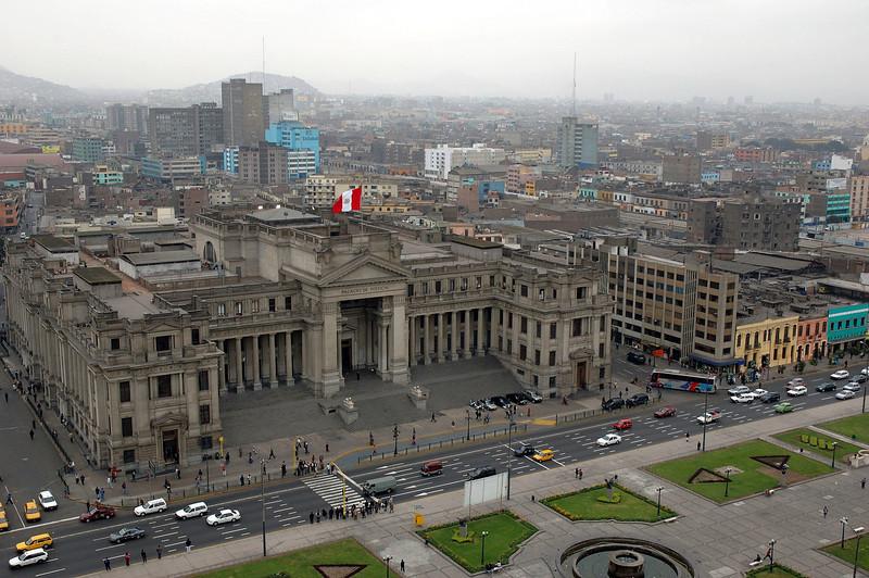 Court house in Peru