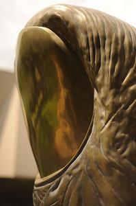 Sculpture of a thumb in Martigny, Switzerland