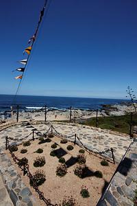 Pablo Neruda grave - Isla Negra, Chile
