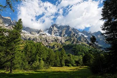 Les Grandes Jorasses du Val Ferret - 2008