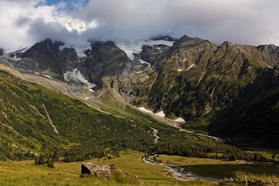 Les Domes de Miage - Alpes, France, 2009