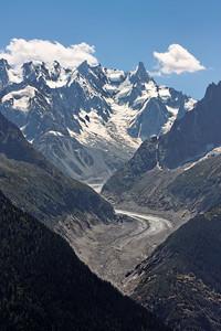 La Mer de Glace - Alpes, France, 2009